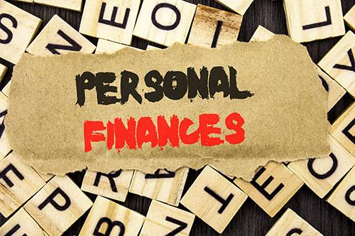 Personal Finances with Scrabble Tiles